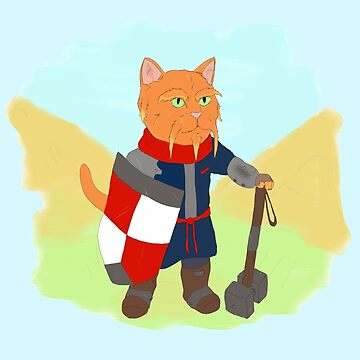 Viking cat by SoulWolfz