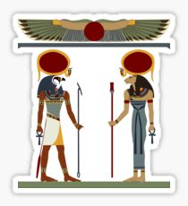 Ra and Sekhmet Sticker
