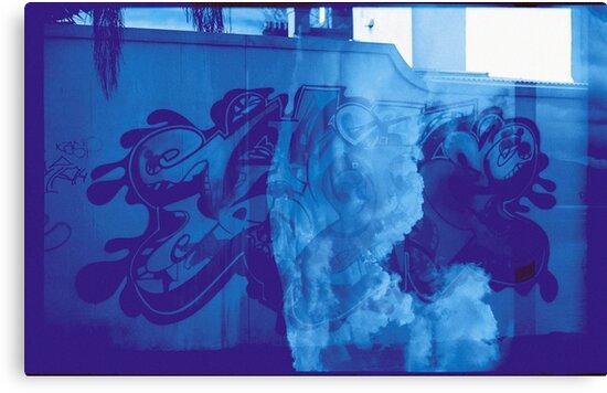 Cloudy Graffiti by Donny Ocleirgh
