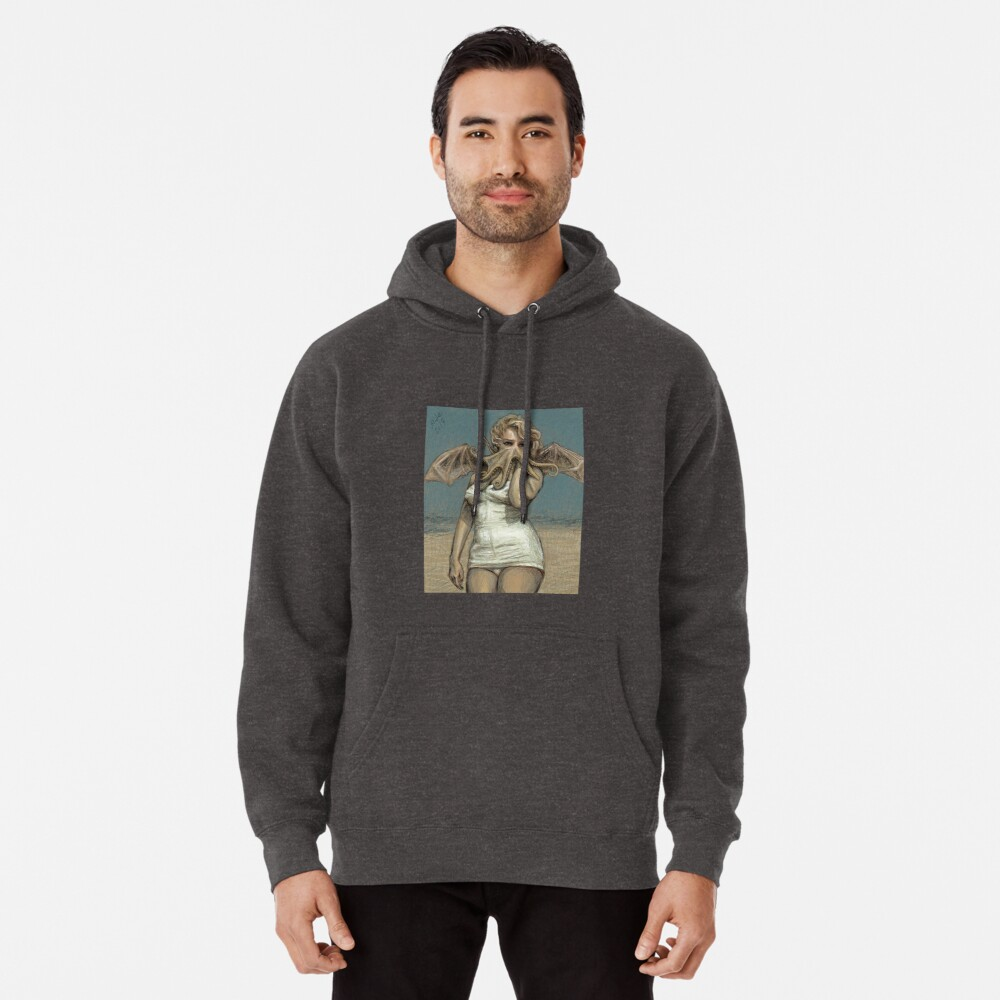 """""""Call of Cthulyn, 2014""""  Pullover Hoodie"""
