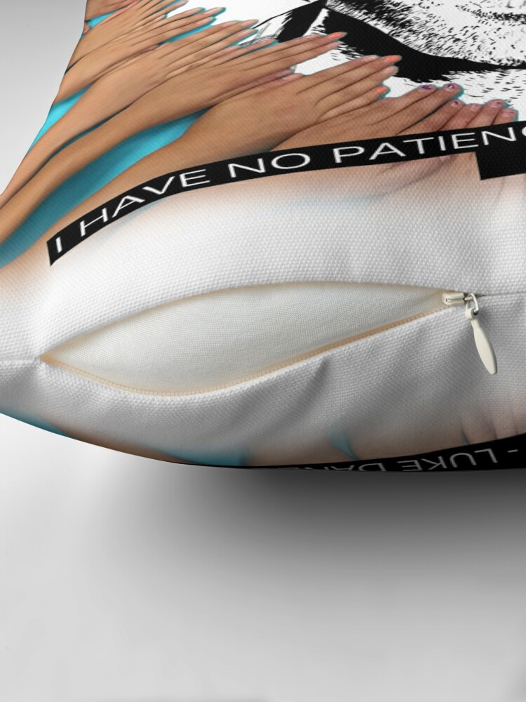 Alternate view of LUKE DANES Throw Pillow