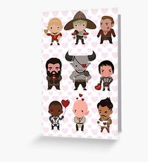 Dragon Age Valentine's  Greeting Card