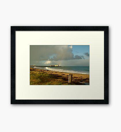 Queenscliff Beach Framed Print