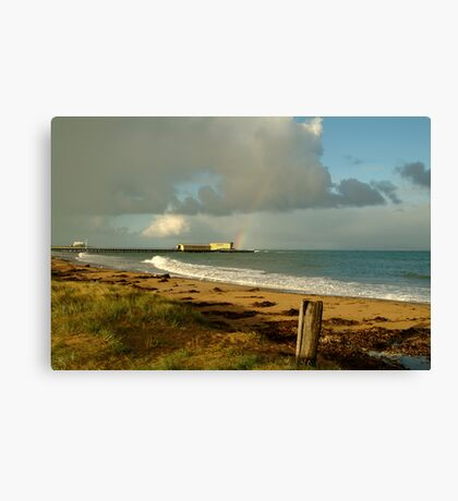 Queenscliff Beach Canvas Print