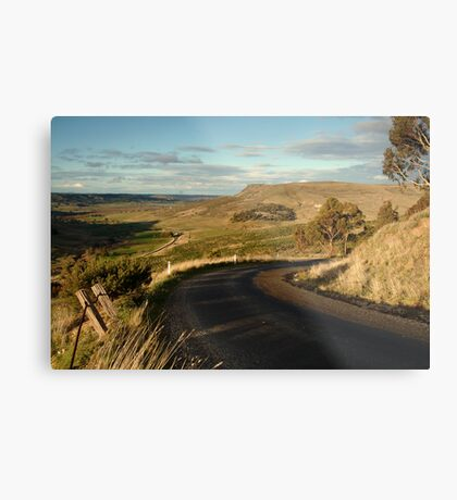 The Bluff Rowsely Metal Print