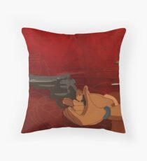 Hunt this Throw Pillow
