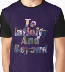 """Buzz """"To Infinity And Beyond"""" Graphic T-Shirt"""