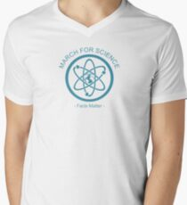 March For Science  Men's V-Neck T-Shirt