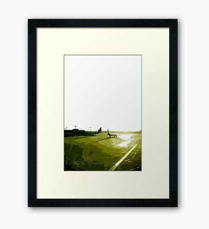 transit Framed Print
