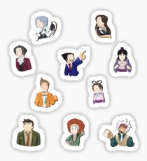 Ace Attorney Sticker