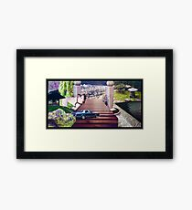 Guardian of the Portal Framed Print