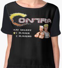 Contra - NES Trump Edition Chiffon Top