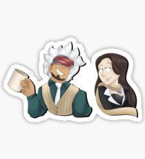 Prosecutor Godot and Mia Fey Sticker