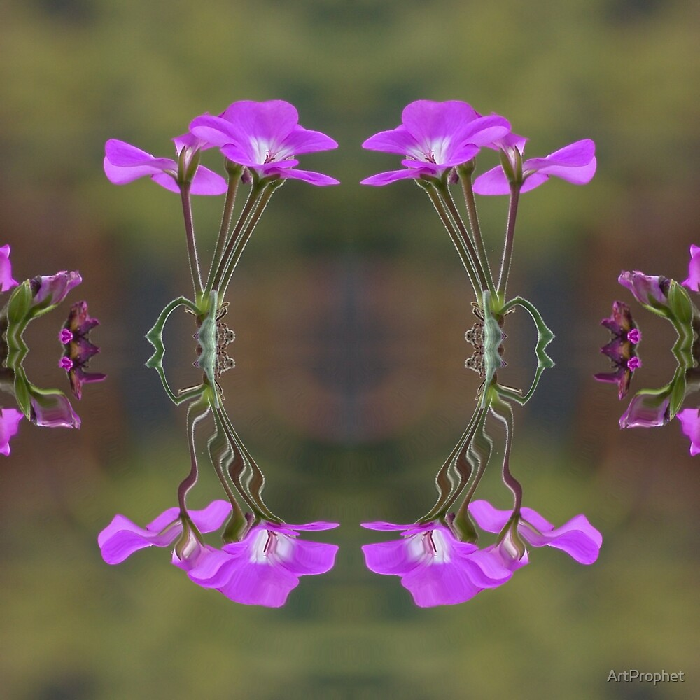 Pink Ripple by ArtProphet
