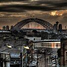 Harbour Bridge from Victoria Road 1 by Alexander Kesselaar