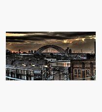 Harbour Bridge from Victoria Road 1 Photographic Print