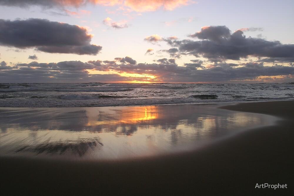 Sunset Cove by ArtProphet