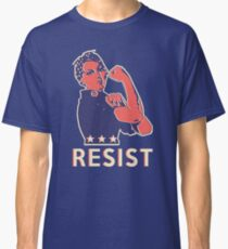 Resist and Keep Marching with Rosie the Riveter Classic T-Shirt