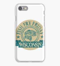 WISCONSIN FISH FRY iPhone Case/Skin
