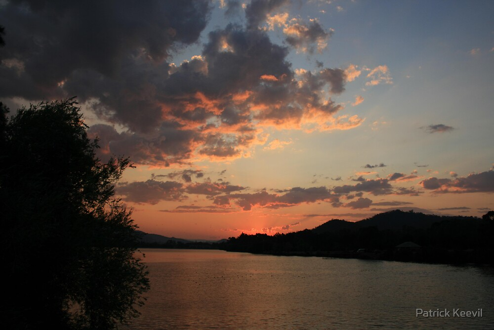 sunset over eilden by Patrick Keevil