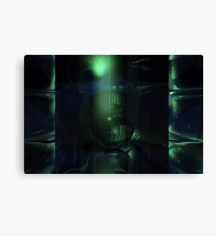 The Green Dungeon Canvas Print