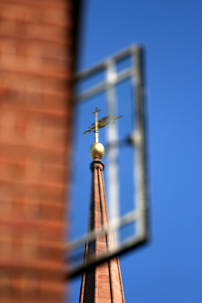 Church Window by Kylie-Rose  Douglas