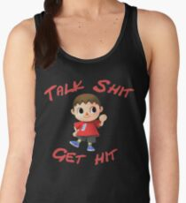Talk shit, get hit Women's Tank Top
