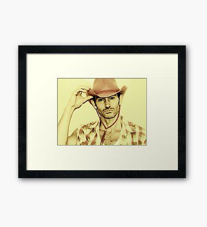 Ode to Man Framed Print