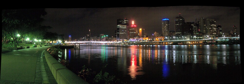 The City From Southbank. by aperture