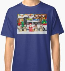 Santa and the Ghostbusters Classic T-Shirt