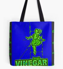 Skipping Girl - Neon Nights 2 Tote Bag