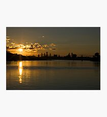 Forster Sunset_1 Photographic Print