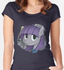 Stone & a Pone Women's Fitted Scoop T-Shirt