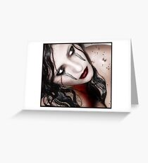 blood droplets Greeting Card