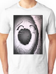 Anime in Sumi-e with adjusted lighting. Unisex T-Shirt