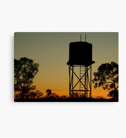 Outback Water Tank,N.T. Canvas Print
