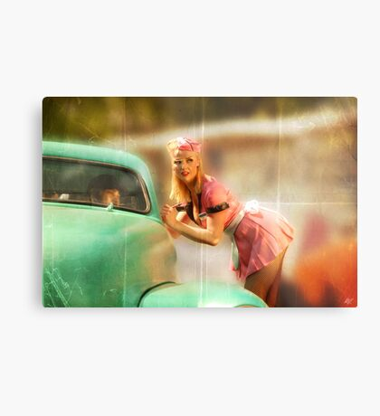 Can I Take Your Order Metal Print
