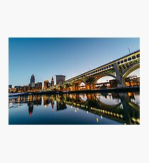 Burning River Photographic Print