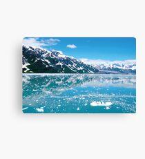 Lakeside Glacier Canvas Print