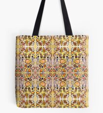 Fruit Out the Wazoot: Psychedelic Kaleidoscope Tote Bag
