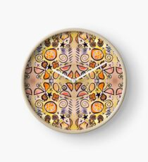 Fruit Out the Wazoot: Psychedelic Kaleidoscope Clock