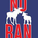 Kein Elch-Lamm-Verbot von kjanedesigns