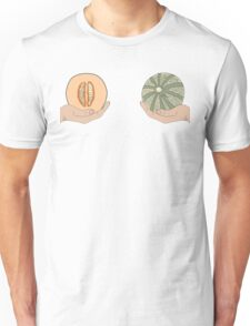 Melon boobs Unisex T-Shirt