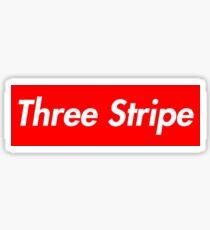 Adidas Three Stripe Supreme Logo Sticker