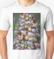 Vintage Christmas Card #4 Unisex T-Shirt