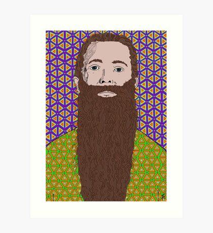 Aubrey de Grey Art Print