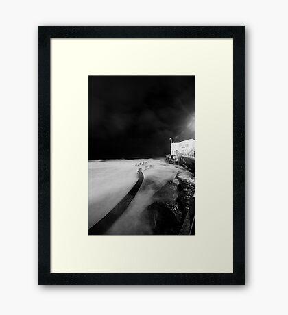 Coogee Mist Framed Print