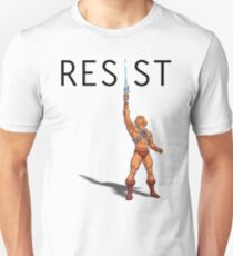 "He-Man says ""RESIST"" Unisex T-Shirt"