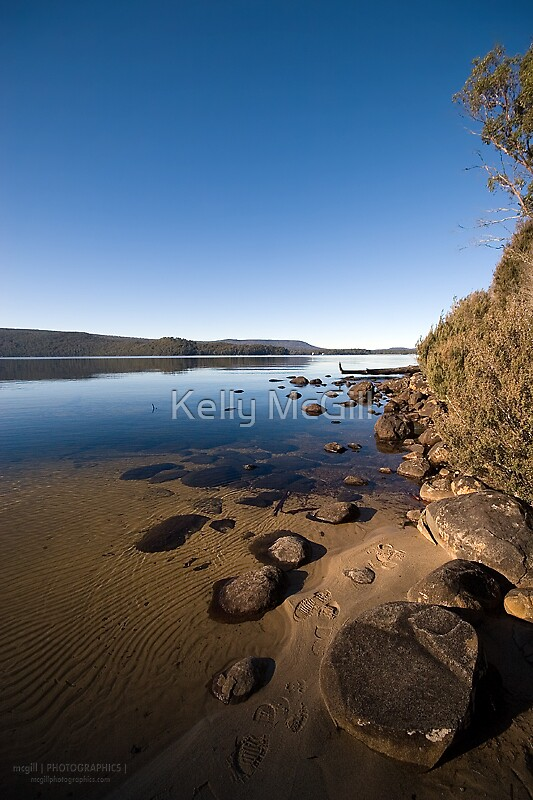 Platypus Bay, Lake St Clair - Tasmania by Kelly McGill