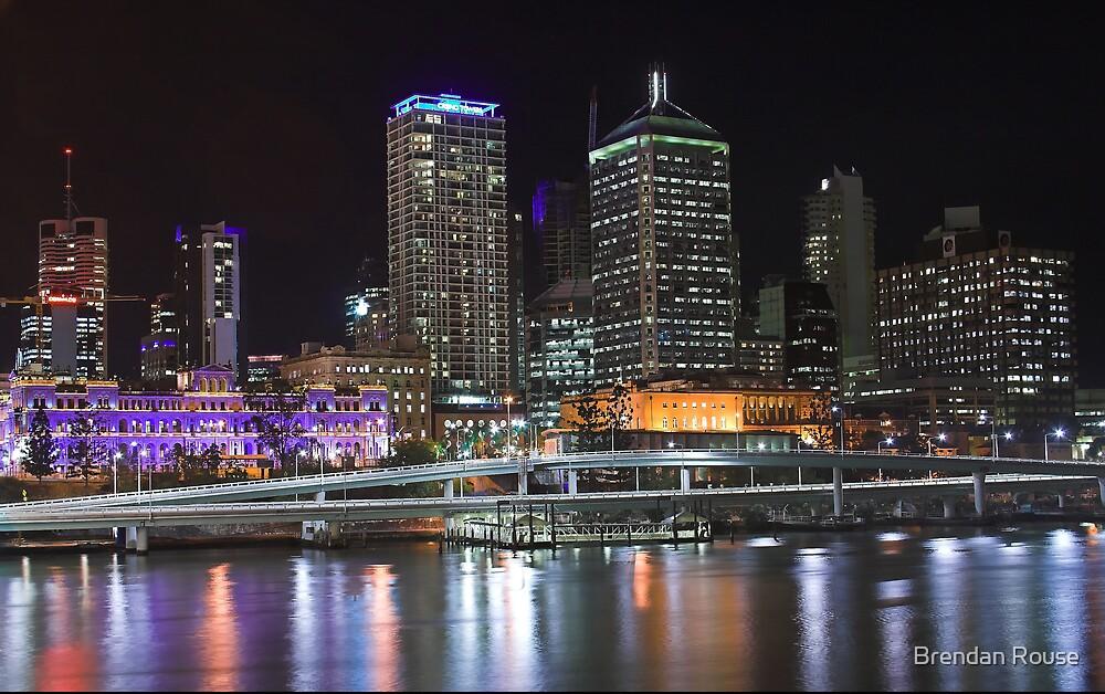Brisbane City, Queensland, Australia by Brendan Rouse